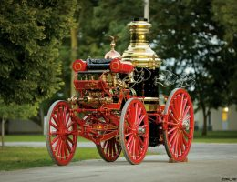 1894 SILSBY Horse-Drawn Steam Fire Engine – RM Auctions Amelia Island 2016 Highlights