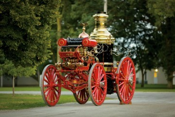 1894 Silsby Fourth Size Horse-Drawn Steam Pumper 9