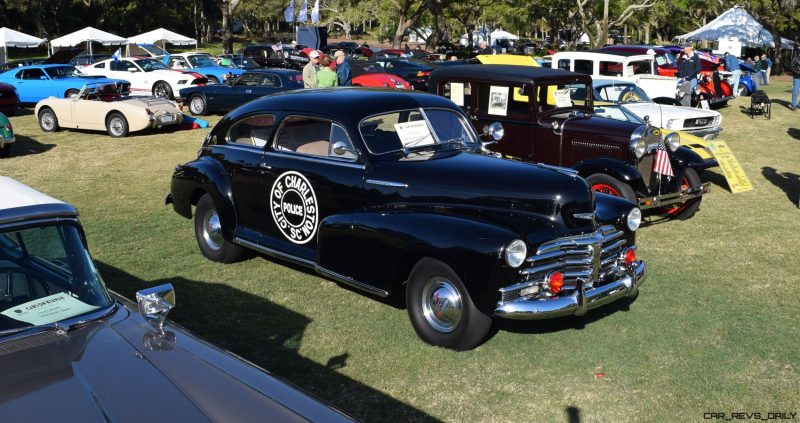 1948 Chevrolet Fleetline Aerosedan - Charleston Policecar 11