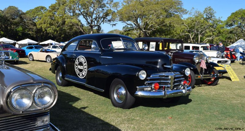 1948 Chevrolet Fleetline Aerosedan - Charleston Policecar 12