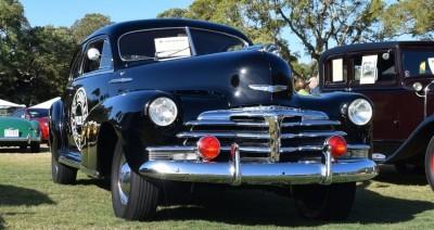 1948 Chevrolet Fleetline Aerosedan - Charleston Policecar 14