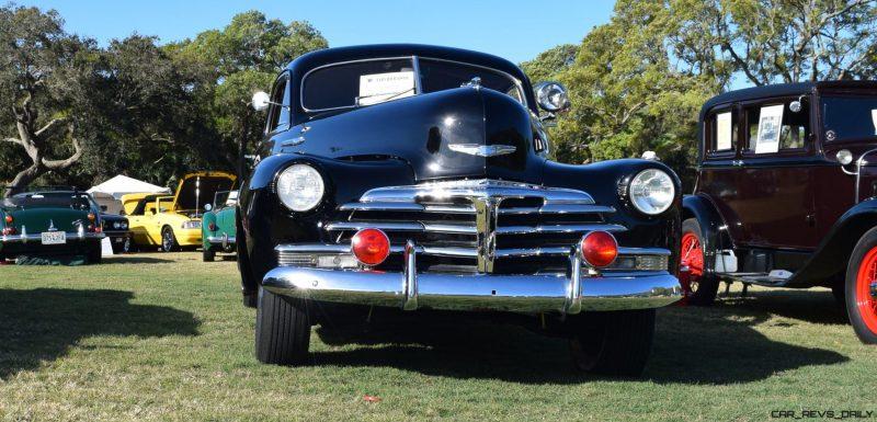 1948 Chevrolet Fleetline Aerosedan - Charleston Policecar 15