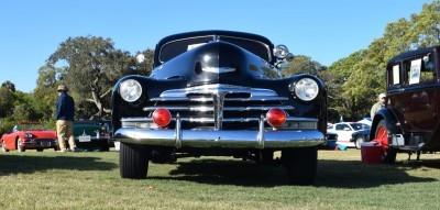 1948 Chevrolet Fleetline Aerosedan - Charleston Policecar 17