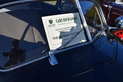 1948 Chevrolet Fleetline Aerosedan - Charleston Policecar 20