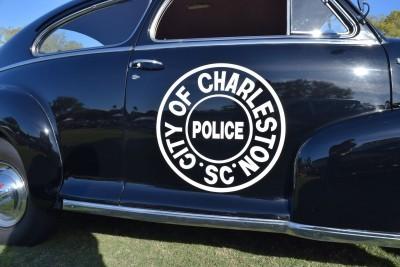 1948 Chevrolet Fleetline Aerosedan - Charleston Policecar 21