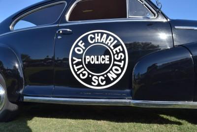 1948 Chevrolet Fleetline Aerosedan - Charleston Policecar 22