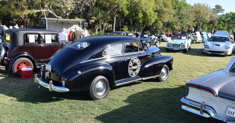 1948 Chevrolet Fleetline Aerosedan - Charleston Policecar 9