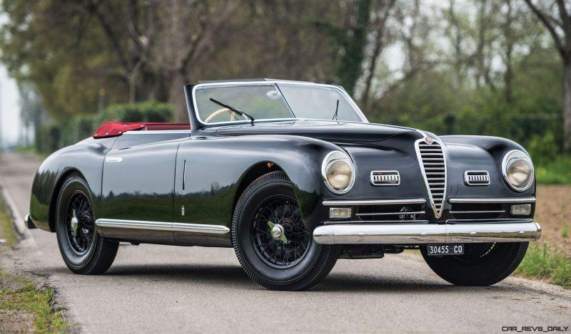 1949 Alfa Romeo 6C 2500 Super Sport Cabriolet by Pinin Farina 1