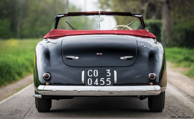1949 Alfa Romeo 6C 2500 Super Sport Cabriolet by Pinin Farina 10