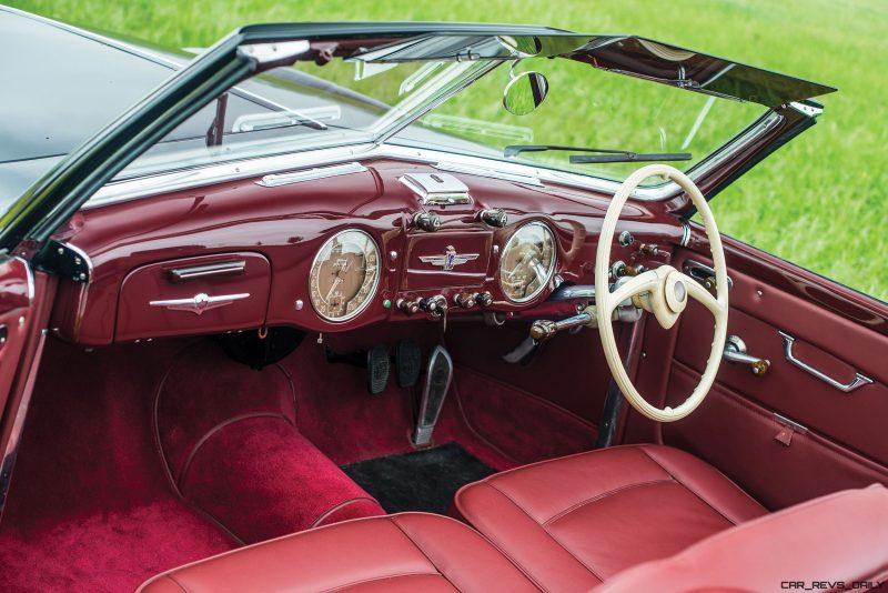 1949 Alfa Romeo 6C 2500 Super Sport Cabriolet by Pinin Farina 11