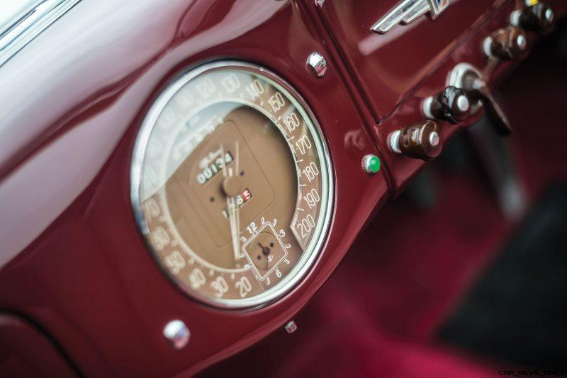 1949 Alfa Romeo 6C 2500 Super Sport Cabriolet by Pinin Farina 12