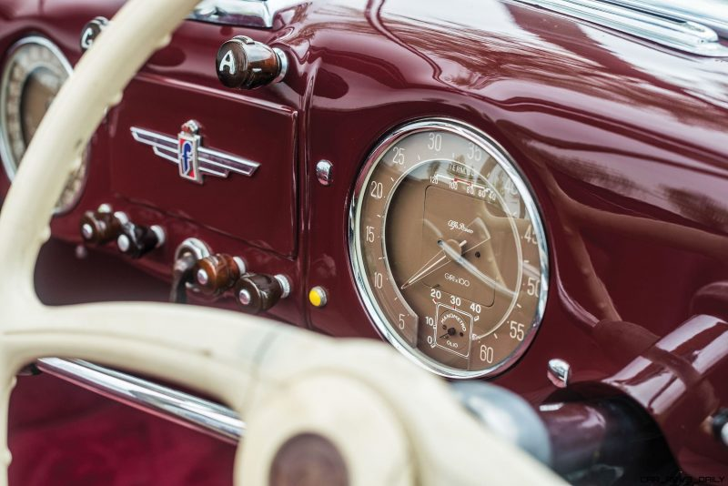 1949 Alfa Romeo 6C 2500 Super Sport Cabriolet by Pinin Farina 13