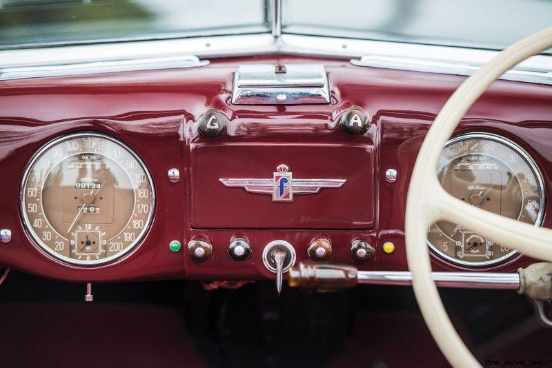 1949 Alfa Romeo 6C 2500 Super Sport Cabriolet by Pinin Farina 14