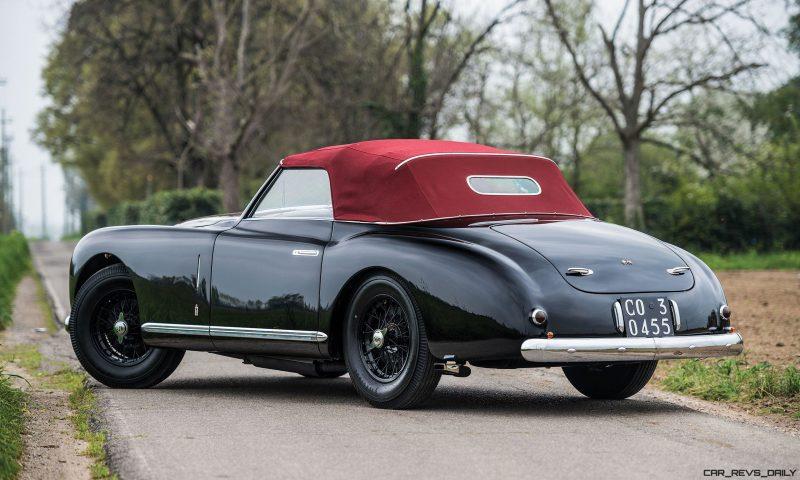1949 Alfa Romeo 6C 2500 Super Sport Cabriolet by Pinin Farina 2