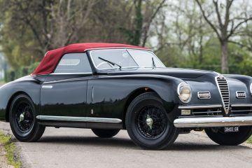 1949 Alfa Romeo 6C 2500 Super Sport Cabriolet by Pinin Farina 24