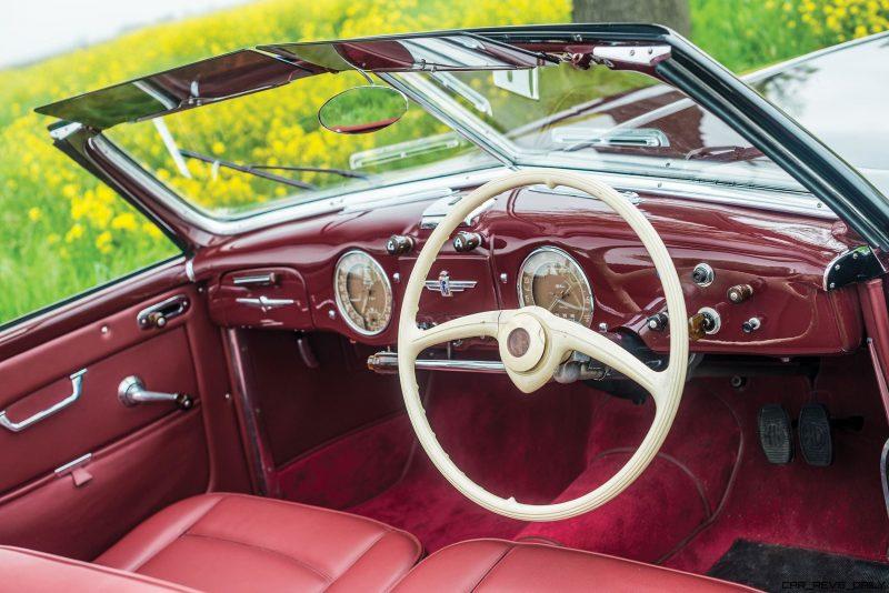 1949 Alfa Romeo 6C 2500 Super Sport Cabriolet by Pinin Farina 4