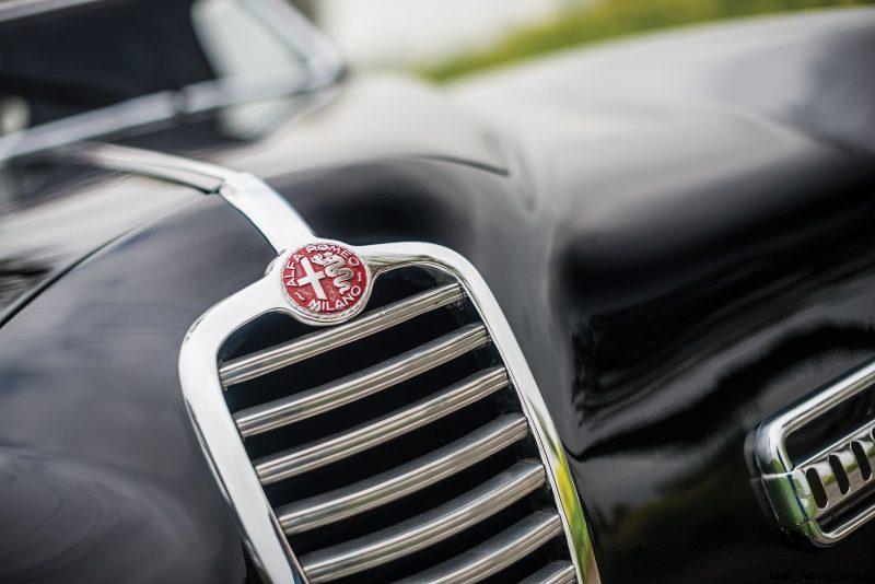 1949 Alfa Romeo 6C 2500 Super Sport Cabriolet by Pinin Farina 6
