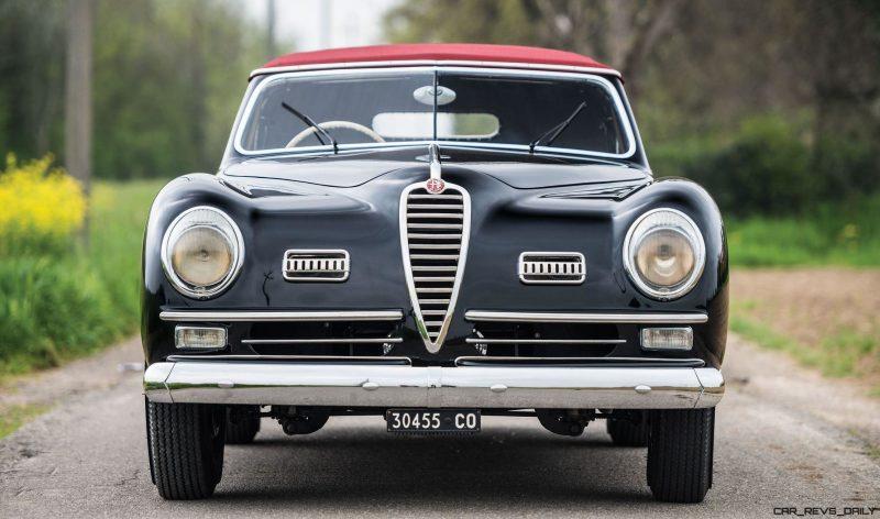 1949 Alfa Romeo 6C 2500 Super Sport Cabriolet by Pinin Farina 9