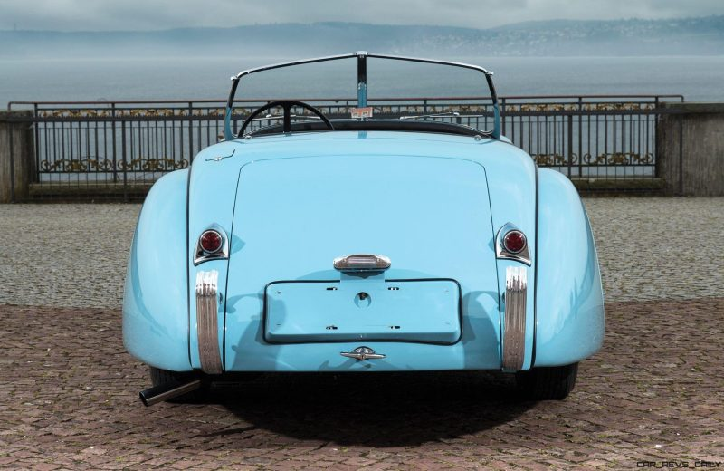 1950 Jaguar XK120 Alloy Roadster 12