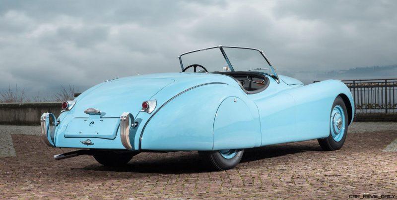 1950 Jaguar XK120 Alloy Roadster 2