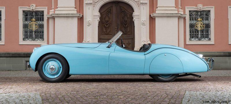 1950 Jaguar XK120 Alloy Roadster 28