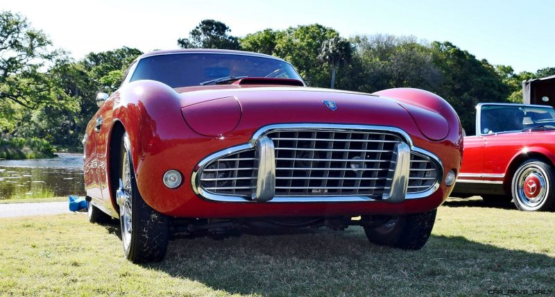 1954 SIATA 200CS Balbo Coupe 35