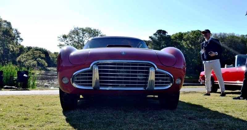 1954 SIATA 200CS Balbo Coupe 5