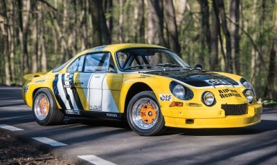 1965 Alpine-Renault A110 in Group 4 Rally Spec 1