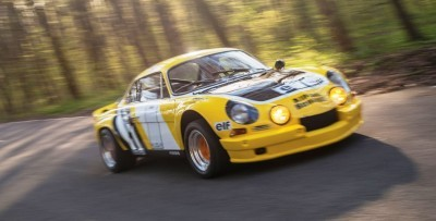 1965 Alpine-Renault A110 in Group 4 Rally Spec 18