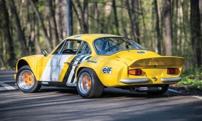 1965 Alpine-Renault A110 in Group 4 Rally Spec 2