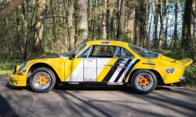 1965 Alpine-Renault A110 in Group 4 Rally Spec 5