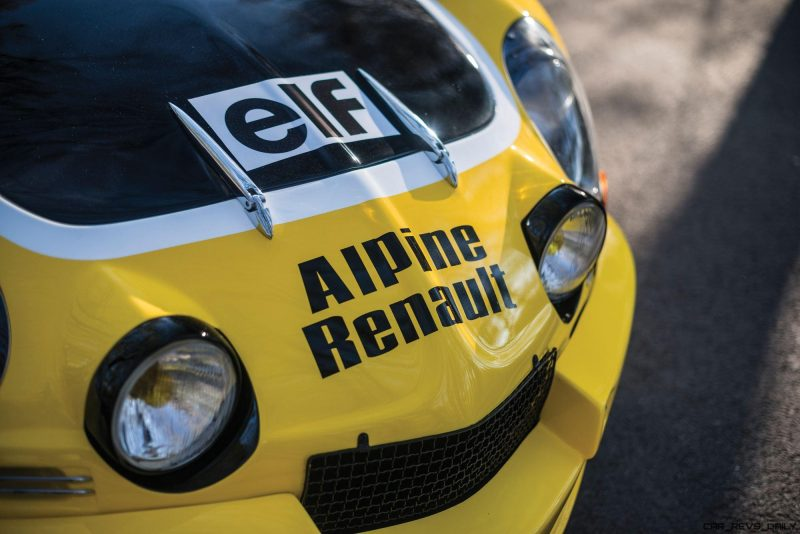 1965 Alpine-Renault A110 in Group 4 Rally Spec 6