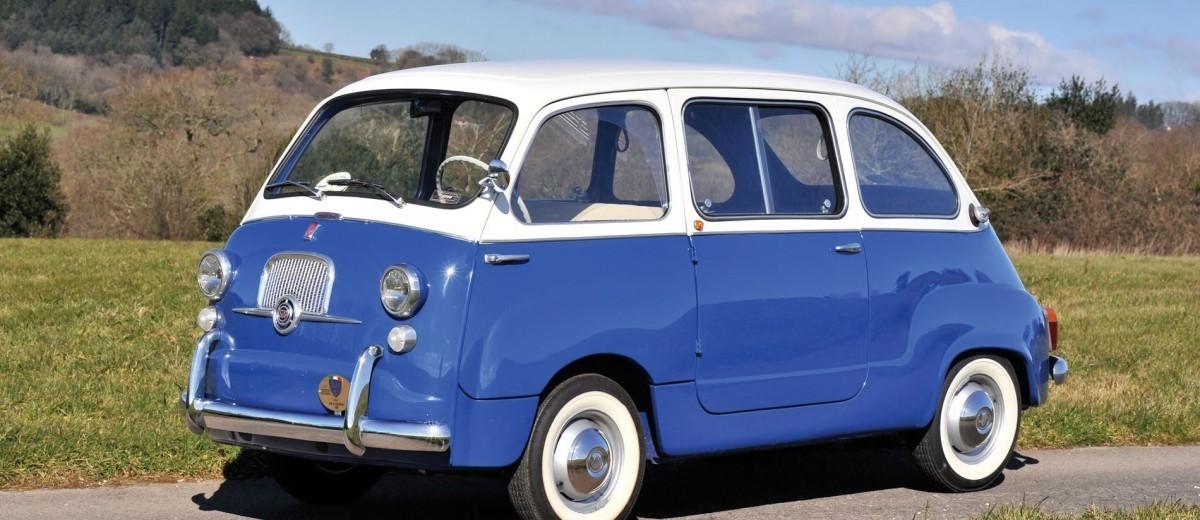 rm monaco 2016 1965 fiat 600 multipla first 7 seat minivan car shopping. Black Bedroom Furniture Sets. Home Design Ideas