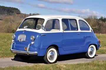 RM Monaco 2016 - 1965 Fiat 600 Multipla - First 7-Seat Minivan?