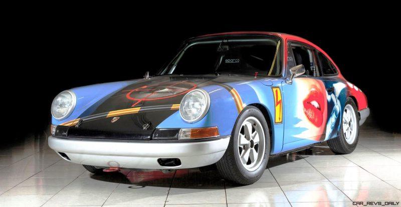 1965 Porsche 911 Art Car 007 By Peter Klasen 1