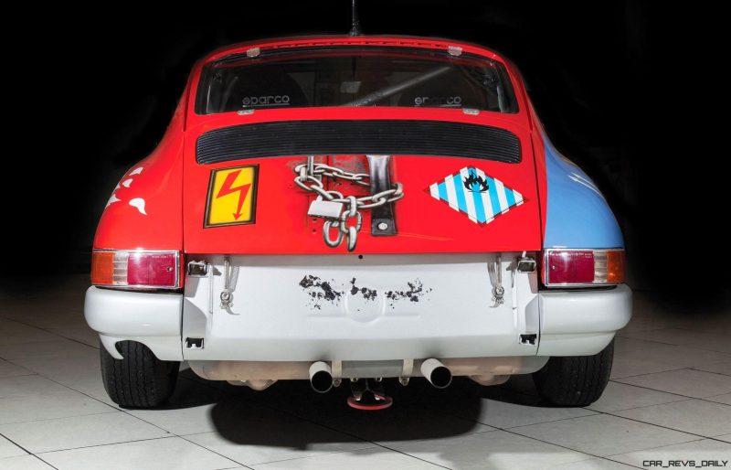1965 Porsche 911 Art Car 007 By Peter Klasen 10