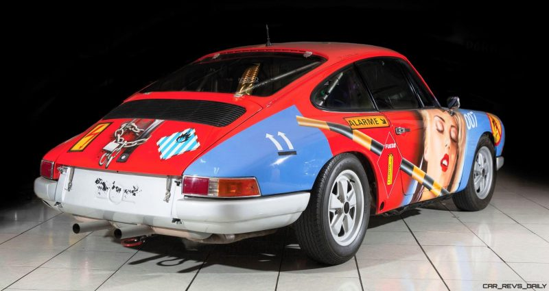 1965 Porsche 911 Art Car 007 By Peter Klasen 2