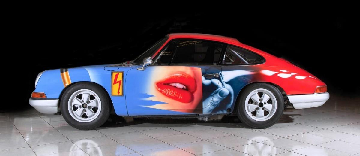 RM Monaco 2016 - 1965 Porsche 911 Art Car 007 By Peter Klasen