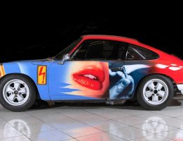 RM Monaco 2016 – 1965 Porsche 911 Art Car 007 By Peter Klasen