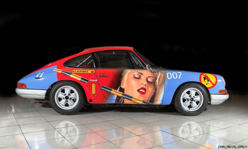1965 Porsche 911 Art Car 007 By Peter Klasen 5