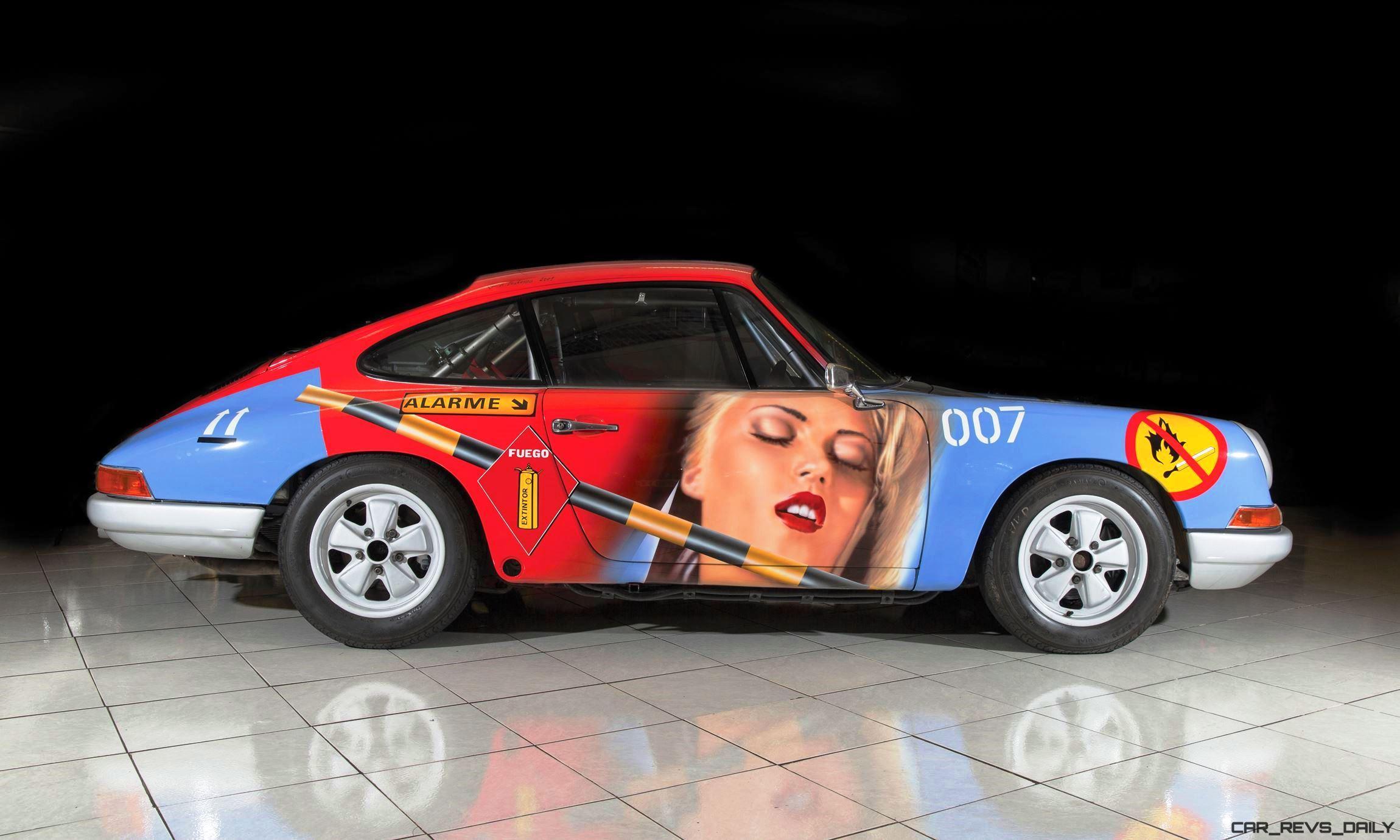 Rm Monaco 2016 1965 Porsche 911 Art Car 007 By Peter Klasen Car