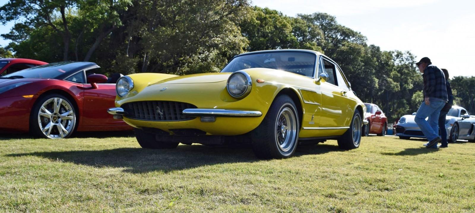 Kiawah 2016 Highlights 1967 Ferrari 330gtc In Giallo Fly