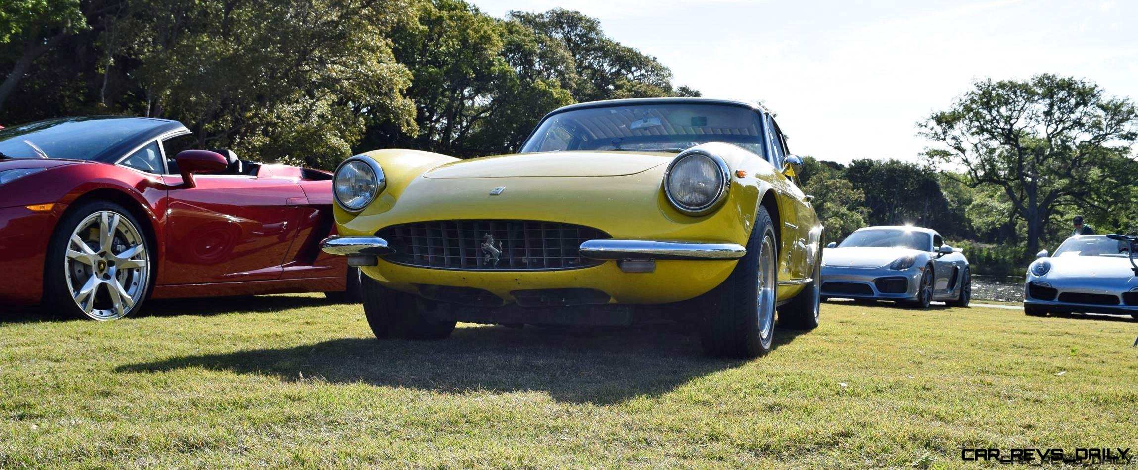 1967 Ferrari 330GTC in Giallo Fly 11
