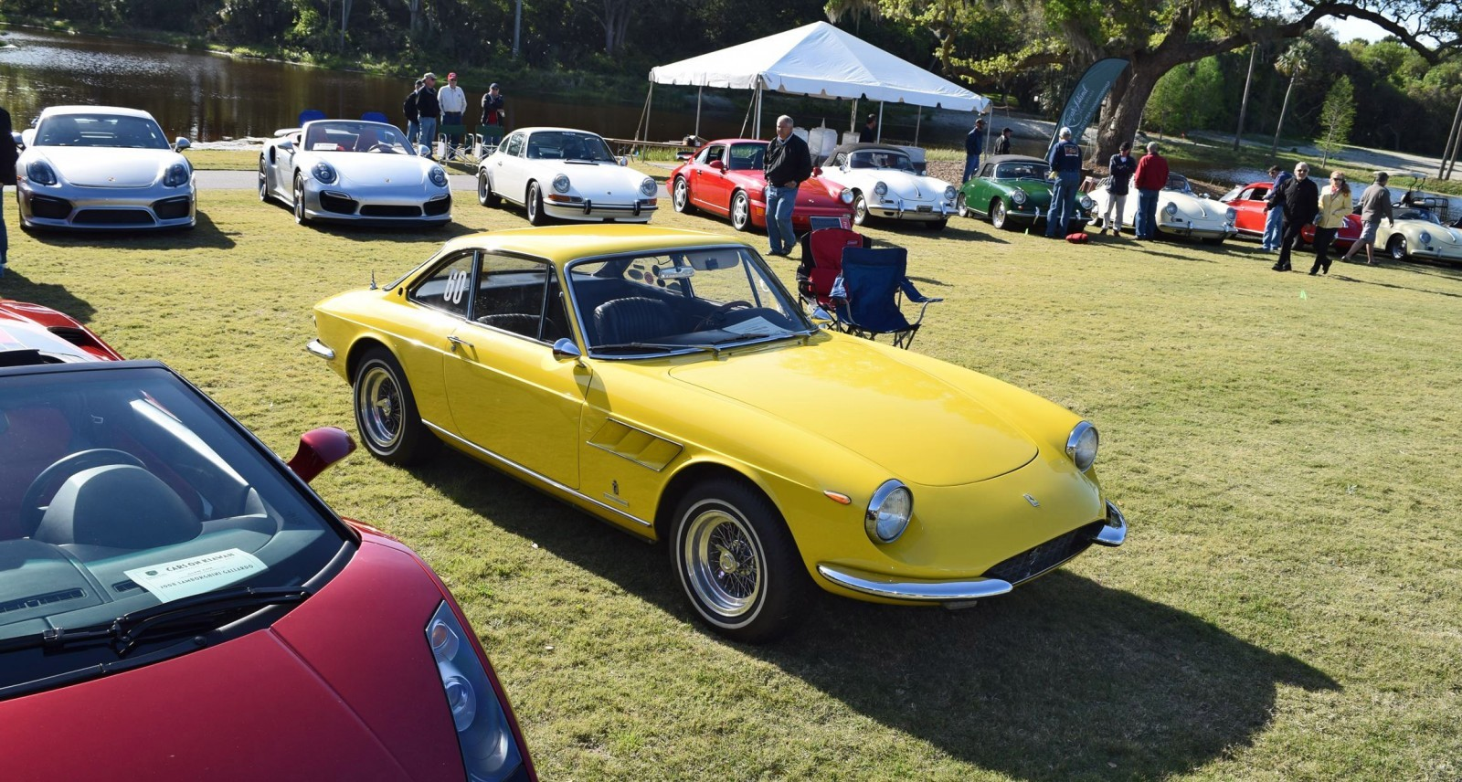 Kiawah 2016 Highlights 1967 Ferrari 330gtc In Giallo Fly