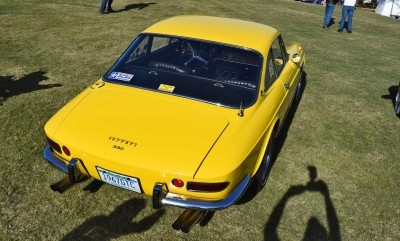 1967 Ferrari 330GTC in Giallo Fly 28