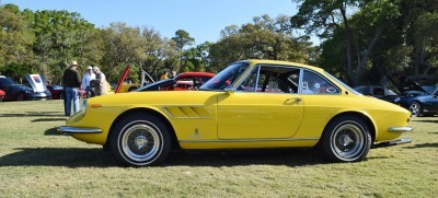 1967 Ferrari 330GTC in Giallo Fly 4