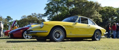 1967 Ferrari 330GTC in Giallo Fly 8