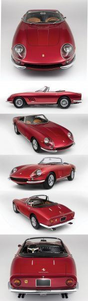 1968 Ferrari 275 GTS4 NART Spider 11-vert