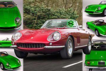 $10 Grand Per Pound! 1968 Ferrari 275 GTS/4 NART Spider = 821 New Miatas?!