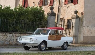 1970 Fiat 850 Spiaggetta by Michelotti 18